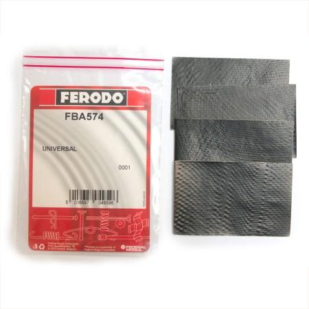 Feuille anti-bruit Ferodo, jeu de 4 pour un essieu / FBA574 - Apex Performance