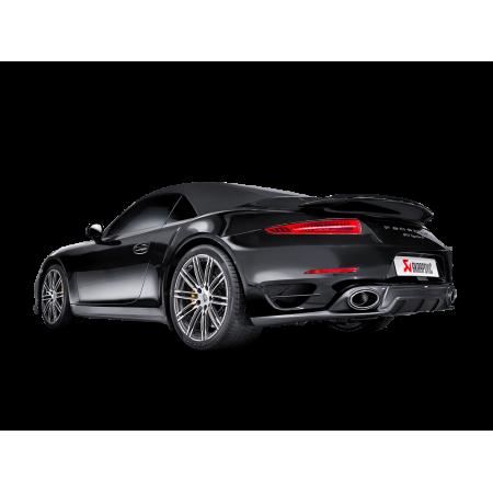 Akrapovic Diffuseur arrière en carbone - Porsche 911 Turbo / Turbo S (991) 2014-15