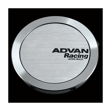 Cache moyeu Advan Racing Full Flat model (4 pièces)