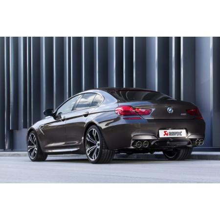 Akrapovic Échappement Evolution - BMW M6 Gran Coupé (F06) 2013-18 / ME-BM/T/6H-C - Apex Performance