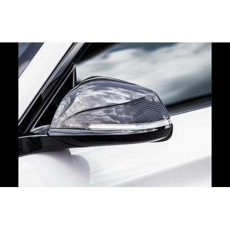 Akrapovic Coques de rétroviseur carbone brillant - BMW M2 (F87) 2016-17 / WM-BM/CA/1/G - Apex Performance