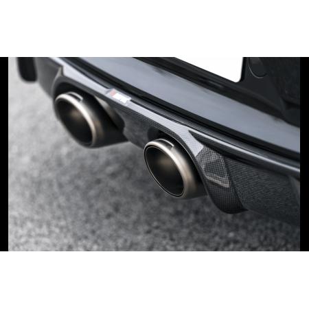 Akrapovic Diffuseur arrière en carbone brillant - Porsche 911 Carrera Série (991.2) 2016-18