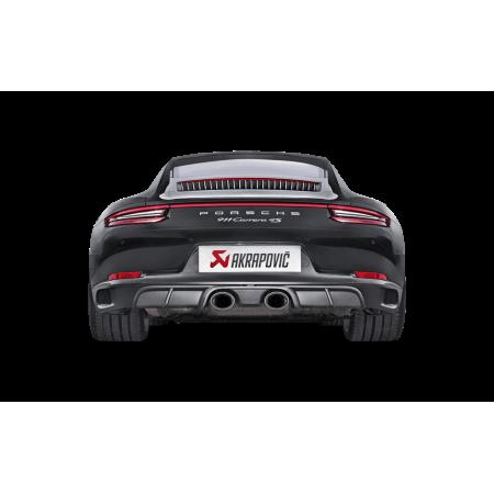 Akrapovic Diffuseur arrière en carbone mat - Porsche 911 Carrera Série (991.2) 2016-18