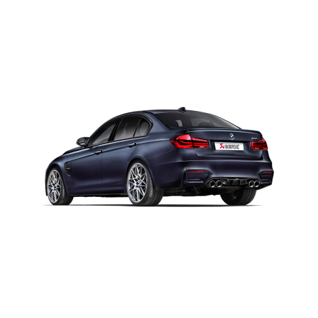 Akrapovic Diffuseur arrière en carbone - BMW M3 / M4 (F80, F82, F83) 2014+
