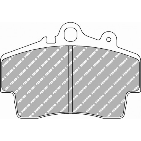 Plaquettes avant Ferodo DS3000 - Porsche Boxster (986) (96-05) / FCP1307R - Apex Performance