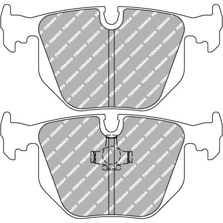 Plaquettes arrière Ferodo DS3000 - BMW M3, incl. CSL (E46) (00-07) / FCP857R - Apex Performance