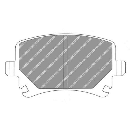 Plaquettes arrière Ferodo DS3000 - Audi TT S 2.0 + RS 2.5 Quattro (8J) (09+) / FCP1636R - Apex Performance