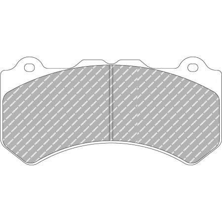 Plaquettes avant Ferodo DS3000 - Nissan GT-R (R35) (08+) / FRP3106R - Apex Performance