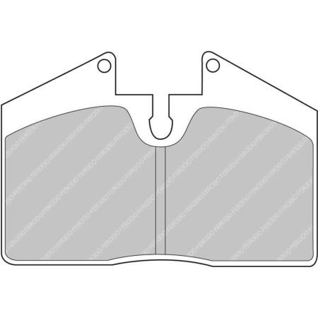 Plaquettes avant Ferodo DS1.11 - Porsche 911 (964) Carrera 4 3.6 (88-94) / FCP451W - Apex Performance