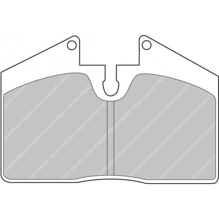 Plaquettes arrière Ferodo DS1.11 - Ferrari 575M Maranello (02-06) / FCP451W - Apex Performance