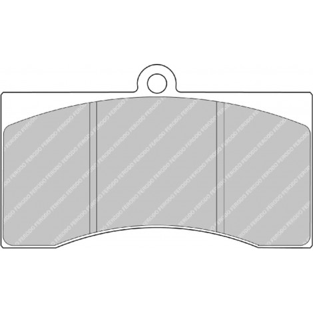 Plaquettes Ferodo DS1.11 - AP Racing Caliper CP3714 D54 20mm / FRP217W - Apex Performance