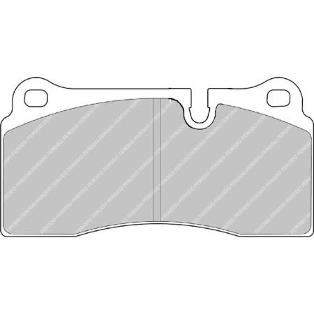 Plaquettes arrière Ferodo DS1.11 - Audi R8 (07+) / FCP1281W - Apex Performance