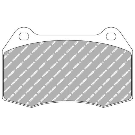 Plaquettes avant Ferodo DS1.11 - Nissan 350Z (Z33) (03-09) / FCP1298W - Apex Performance