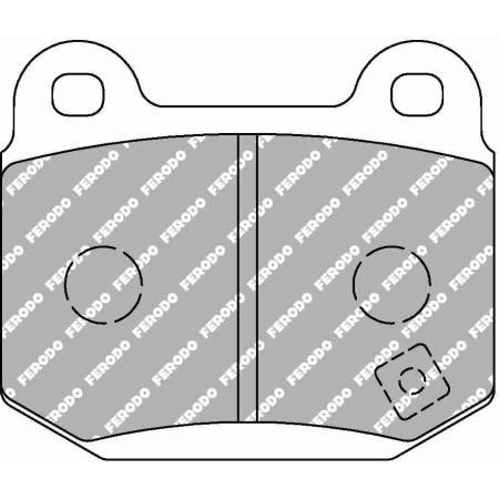 Plaquettes Ferodo DS1.11 - AP Racing Caliper CP5119 D50 15mm / FCP1562W - Apex Performance