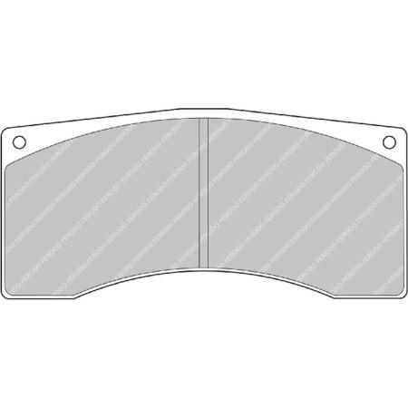 Plaquettes Ferodo DS1.11 - Alcon Caliper B type 16mm / FRP1077W - Apex Performance