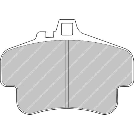 Plaquettes avant Ferodo DS1.11 - Porsche 911 (997) Carrera/4 3.6 (05-08) / FRP3051W - Apex Performance