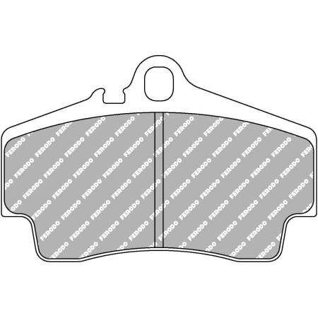 Plaquettes arrière Ferodo DS1.11 - Porsche Boxster, incl. S (987) (05-12) / FCP1308W - Apex Performance
