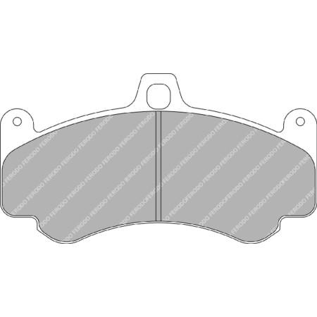 Plaquettes avant Ferodo DS1.11 - Porsche Carrera GT (04-06) / FRP3075W - Apex Performance