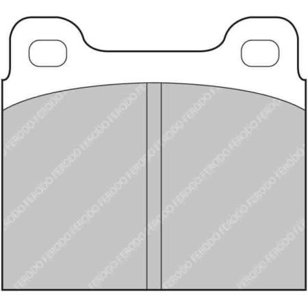 """Plaquettes Ferodo DS1.11 - Brembo Caliper 07.1715. 15mm [type """"62"""" family] / FCP2W - Apex Performance"""