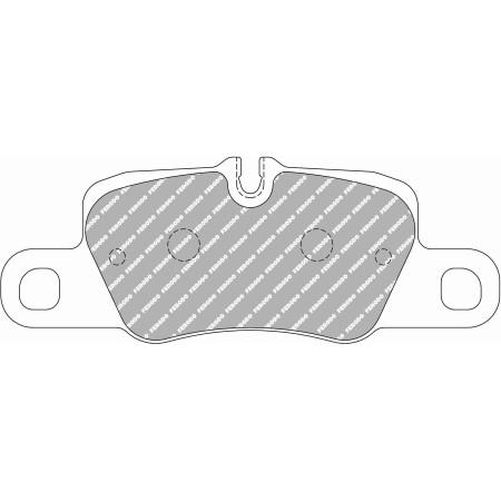 Plaquettes arrière Ferodo DS1.11 - Porsche 911 (991) Carrera 3.4/S 3.8 avec disques céramique (11+) / FCP4713W - Apex Performance
