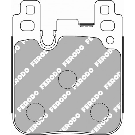 Plaquettes arrière Ferodo DS1.11 - BMW M135i / M140i / M235i / M240i (F20,F21,F22) (12+) / FCP4663W - Apex Performance