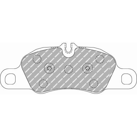 Plaquettes avant Ferodo DS1.11 - Porsche Boxster S / Cayman S 3.4 (981) (12+) / FCP4805W - Apex Performance