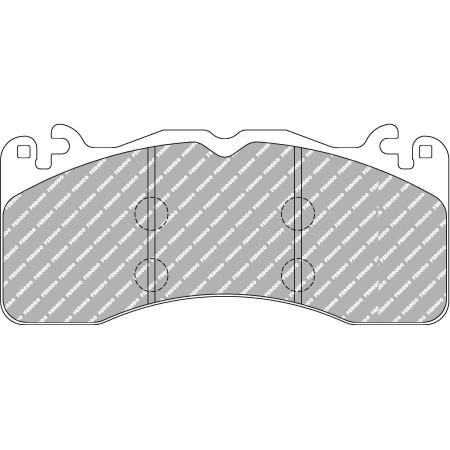 Plaquettes avant Ferodo DS1.11 - Audi RS6 (C7) avec disques acier (13+) / FCP4711W - Apex Performance