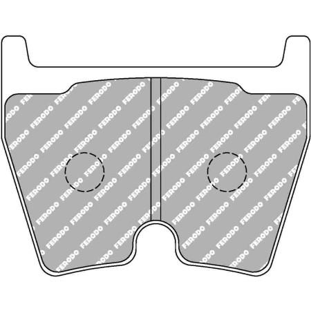 Plaquettes avant Ferodo DSUNO - Audi R8 avec disques acier (07+) / FCP1664Z - Apex Performance