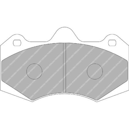 Plaquettes avant Ferodo DSUNO - McLaren MP4-12C / 570S / 650S / 675LT avec disques acier (11+) / FRP3084Z - Apex Performance