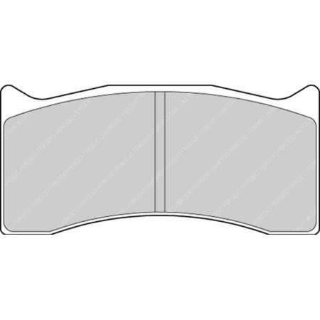 """Plaquettes Ferodo DSUNO - Brembo Caliper 07.7881. 4 piston 16mm [type """"100A"""" family] / FRP3071Z - Apex Performance"""