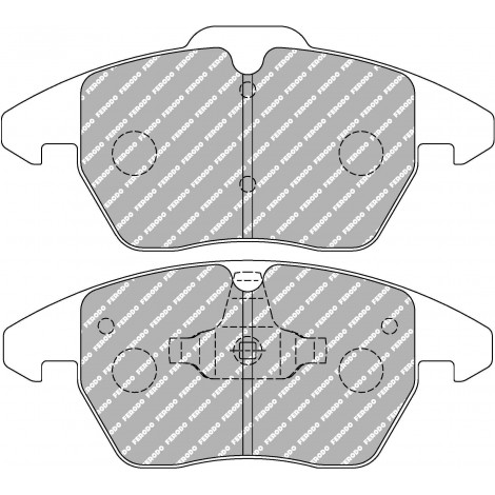 Plaquettes avant Ferodo DSUNO - Audi TT 3.2 V6 Quattro (8J) disque OE288mm (06+) / FCP1641Z - Apex Performance