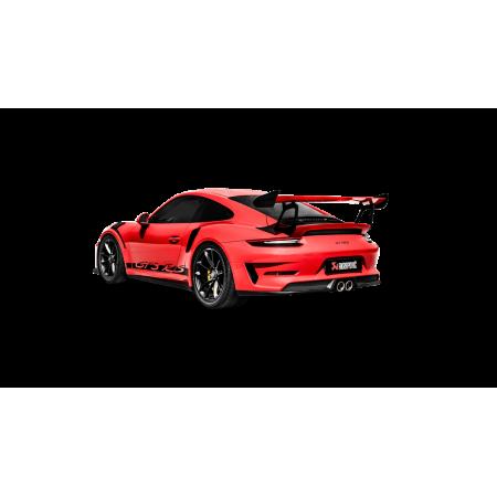 Akrapovic Échappement Slip-On - Porsche 911 GT3 / GT3 RS (991.2) 2018+ / S-PO/TI/10H-GT3 - Apex Performance