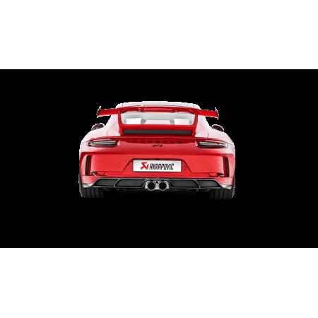 Akrapovic Diffuseur arrière en carbone - Porsche 911 GT3 (991.2) 2018+ / DI-PO/CA/6/G - Apex Performance