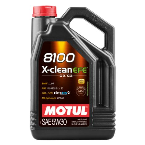 Motul 8100 X-clean EFE 5W30 / MO107210 - Apex Performance