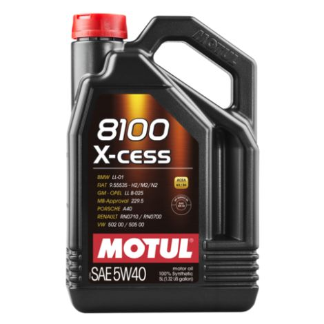 Motul 8100 X-cess 5W40 / MO102784 - Apex Performance