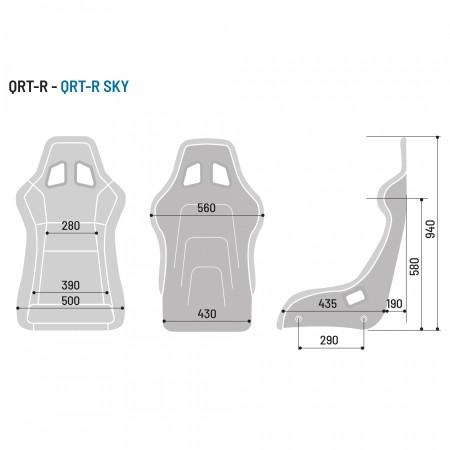 Sparco QRT-R Sky / 008012RNRSKY - Apex Performance
