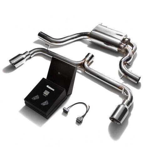 Armytrix Echappement Valvetronic + Downpipe - VW Scirocco R