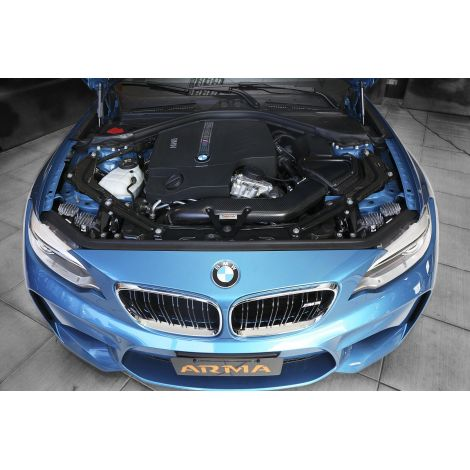 Kit d'admission Carbone Armaspeed - BMW M2 (F87) / ARMABM87M2-A-GLOSS - Apex Performance