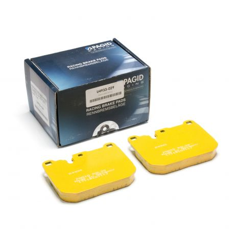 Plaquettes arriere Pagid RSL19 Jaune - Audi RS4 (B7) 2006-08 / 8039-RSL19 - Apex Performance