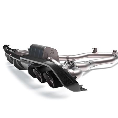 Akrapovic Diffuseur arrière en carbone brillant - BMW M8 / M8 Competition (F91,F92) 2020+
