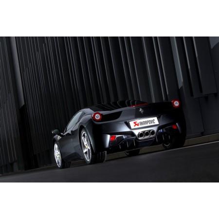 Akrapovic Échappement Evolution - Ferrari 458 Italia/458 Spider (2010-15)