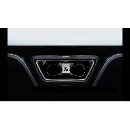 Akrapovic Échappement Slip-On - Renault Megane IV RS 2019+ avec OPF / S-RE/T/4H - Apex Performance