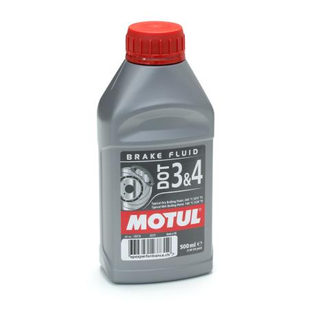 Liquide de frein Motul DOT 3&4 0.5L / MO102718 - Apex Performance