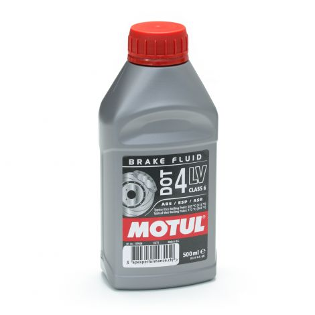 Motul DOT 4 LV Liquide de frein basse viscosité 0.5L / MO109434 - Apex Performance