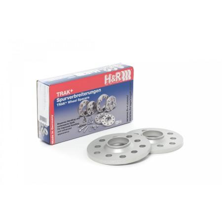 Entretoise H&R DR 22mm (2x11mm) 5x112 M14/D66.5 Gris / 2255664 - Apex Performance