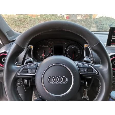 Extenson de palettes en Carbone forgé - Audi RS dès 2016 (RS3/RS4/RS5/R8/TT-RS) / 1CCAD40G01-- - Apex Performance
