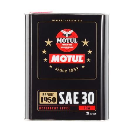 Motul Classic SAE 30 2L / MO104509 - Apex Performance