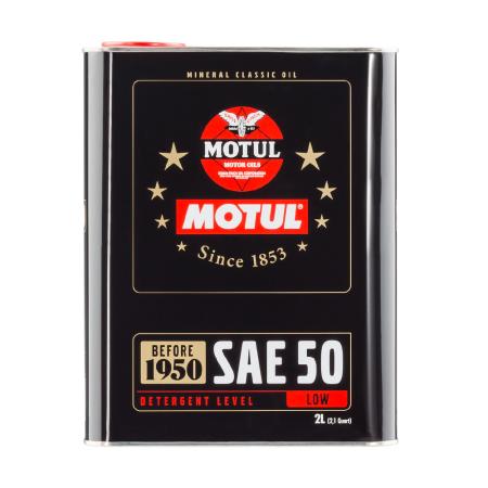 Motul Classic SAE 50 2L / MO104510 - Apex Performance