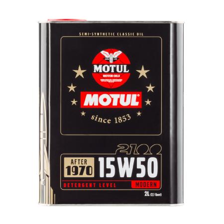 Motul Classic 2100 15W50 2L / MO104512 - Apex Performance