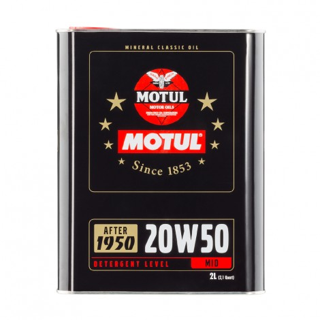 Motul Classic 20W50 2L / MO104511 - Apex Performance